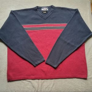 American Outfitters Men's V-neck Cotton Sweater XL